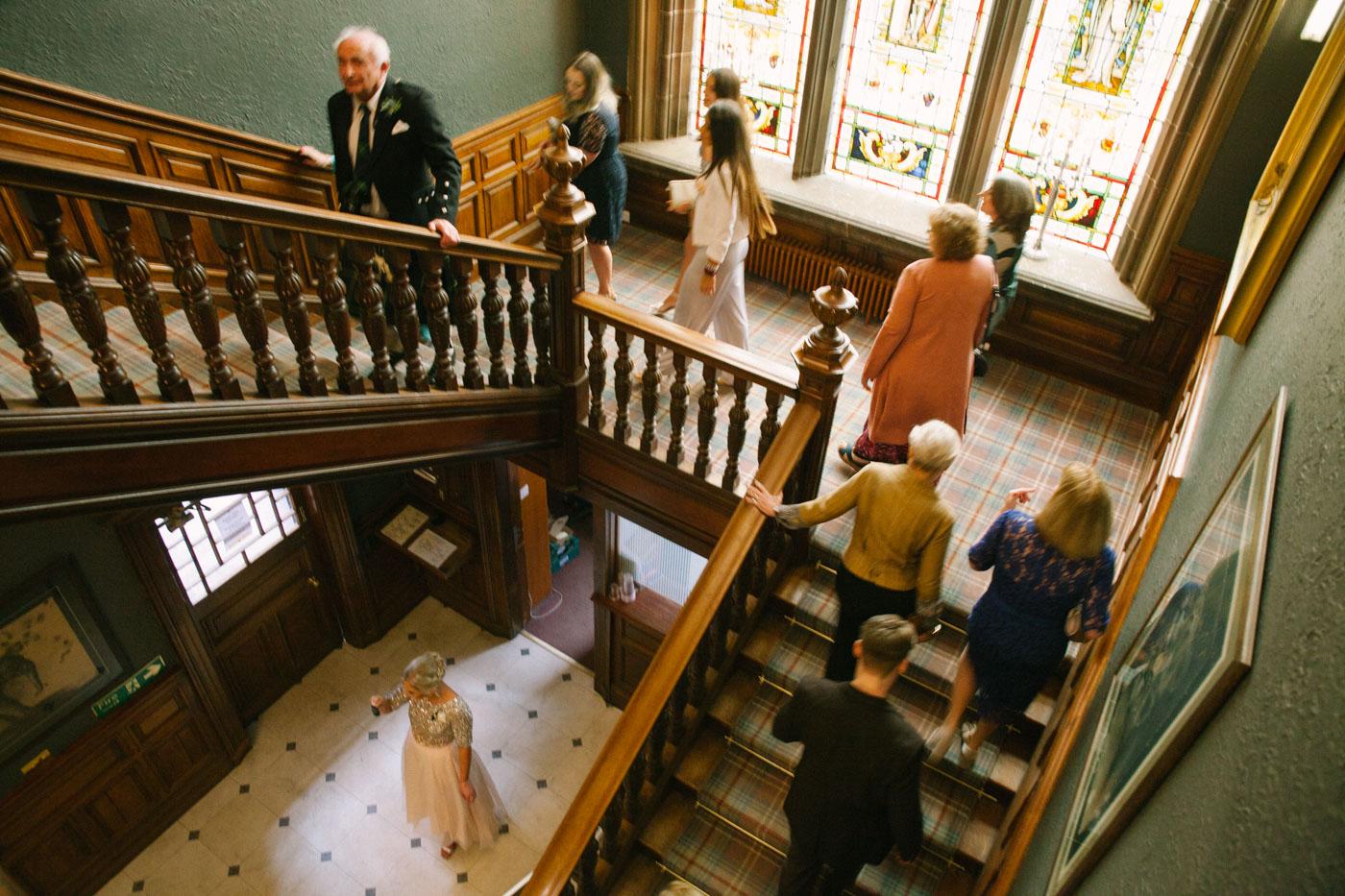 Mansion House at Edinburgh Zoo Wedding Photography