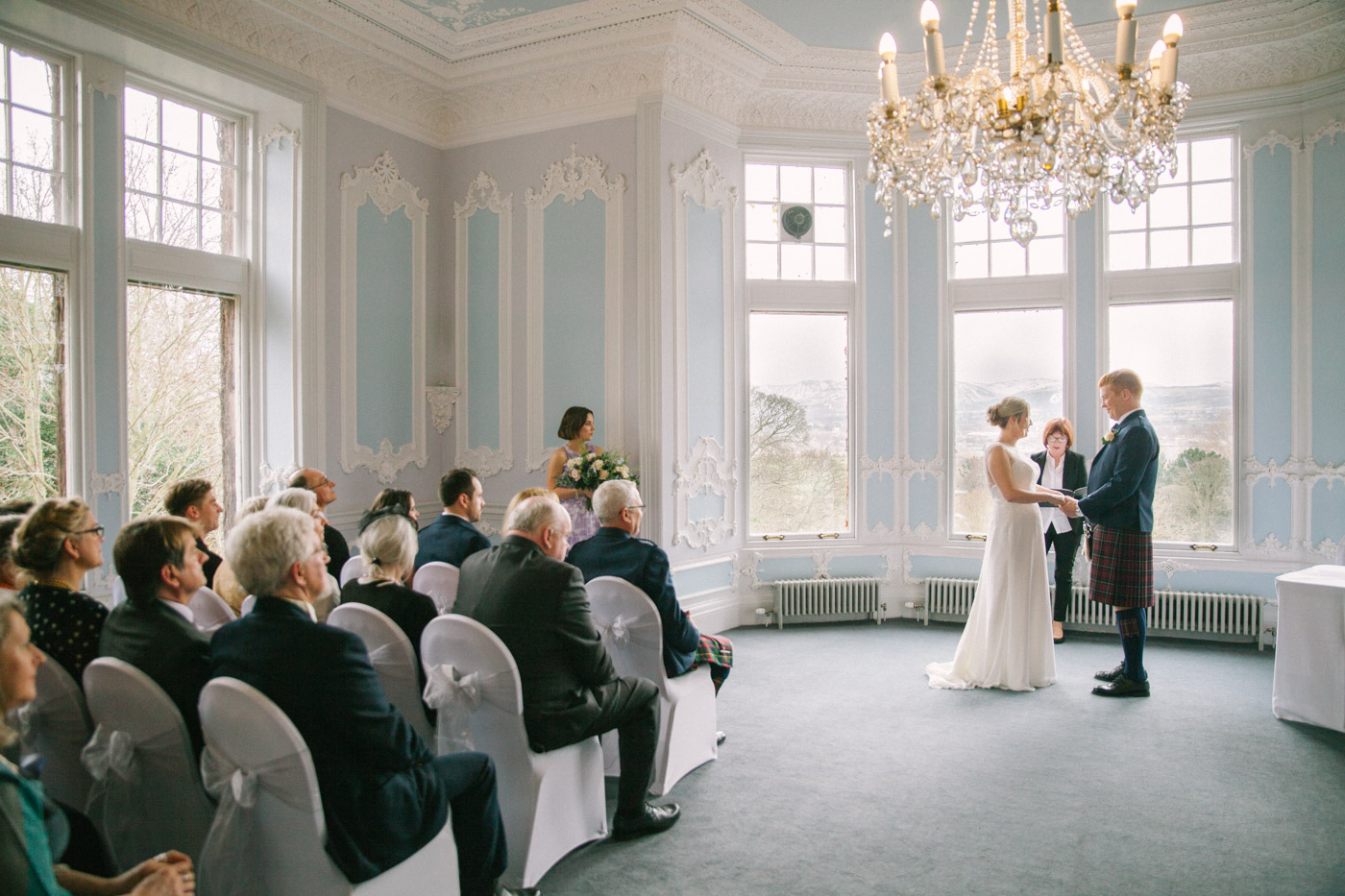 Mansion House at Edinburgh Zoo Wedding Photography
