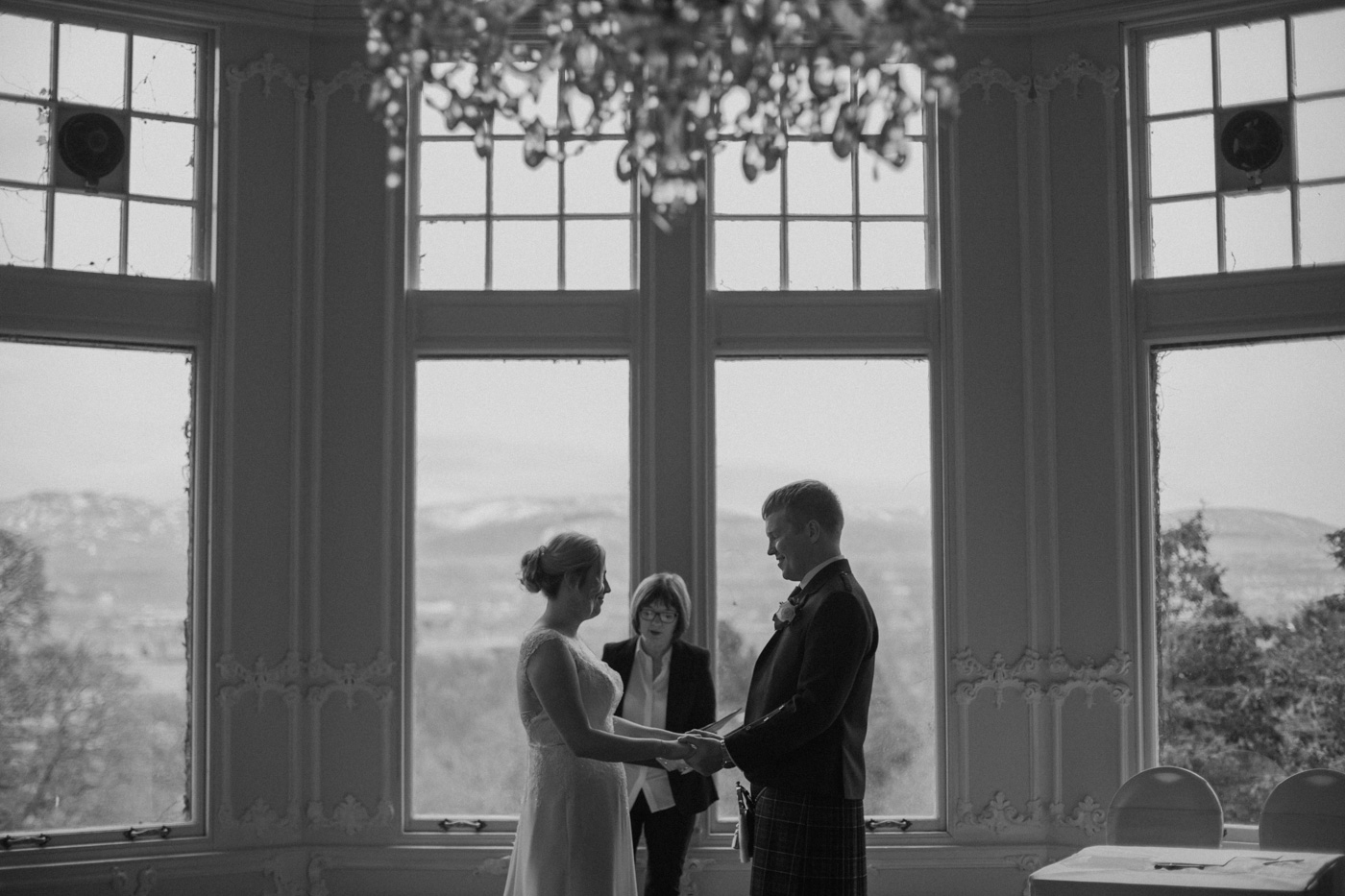 Edinburgh Zoo Wedding Photography