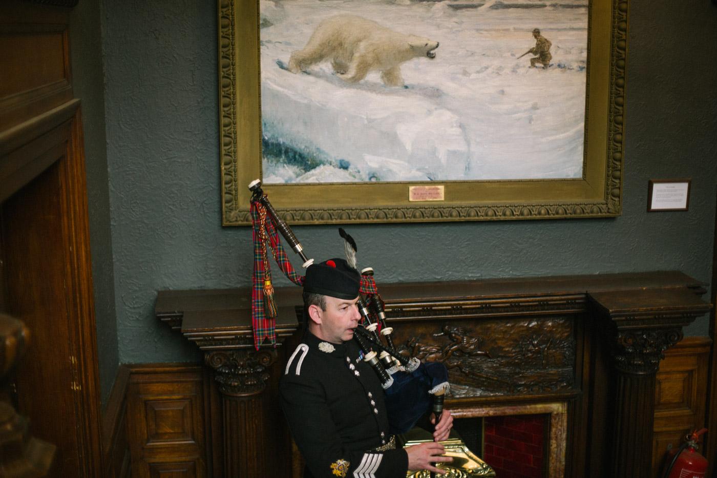 Edinburgh Zoo Wedding Photography