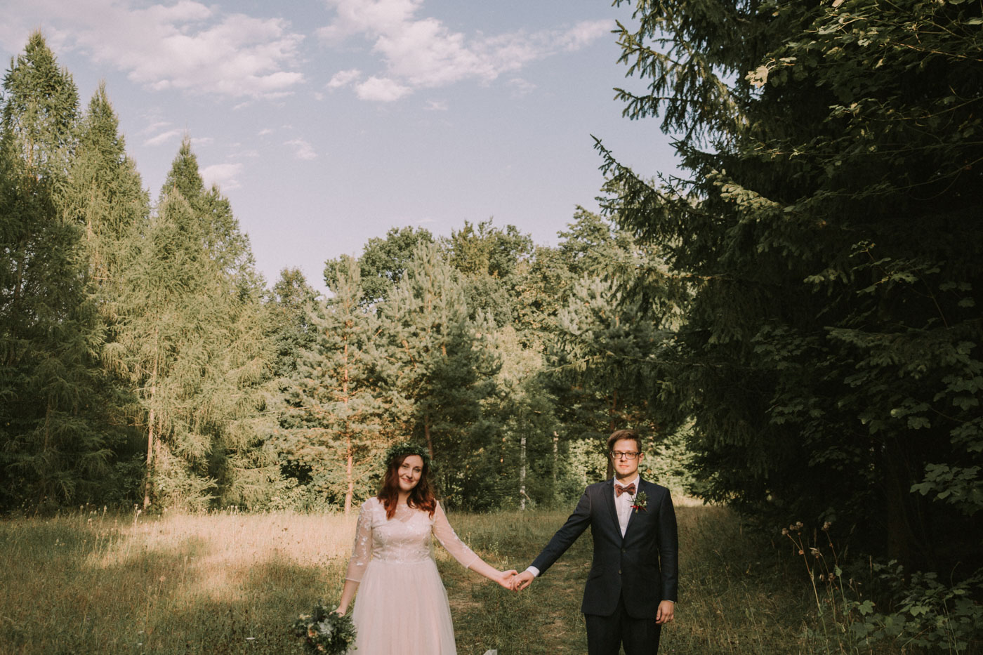 Bohemian woodland wedding photographer | Europe Destination Wedding Photography