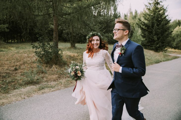 Bohemian wedding photography | natural wedding photographer | Scottish wedding photographer