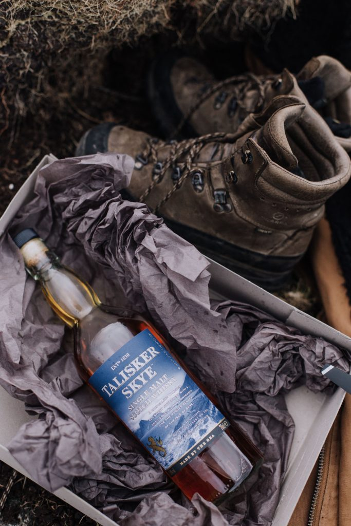 What to pack for Adventure Elopement in Scotland - Boots and whisky | elope to Scotland