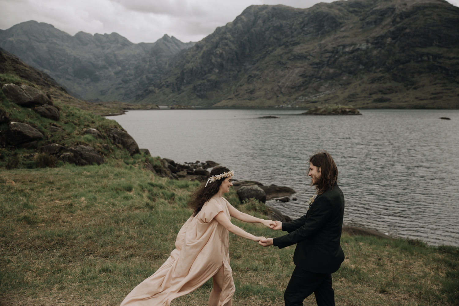 Loch Coruisk Elopement - Scotland Elopement Photography
