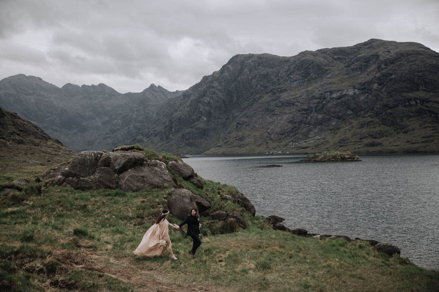 Adventure Elopement Scotland | Loch Corsuick Elopement