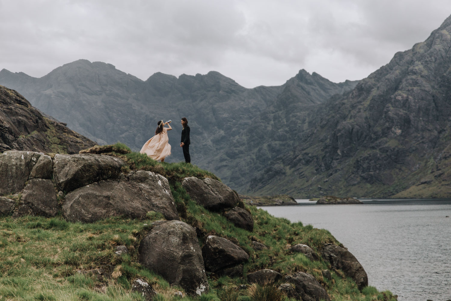 Scottish Mountain Elopement Photographer