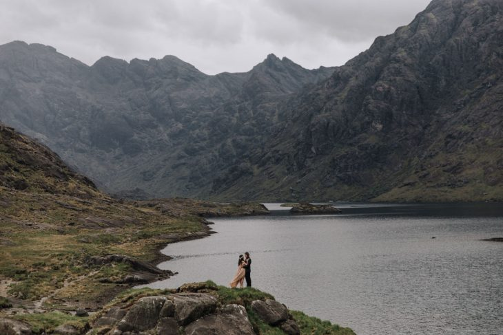 Scotland Wedding Photographer - Adventure Elopement Scotland - Loch Coruisk Intimate Wedding