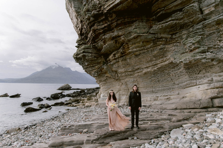 Elgol Beach Wedding Photographer - Ceranna Photography