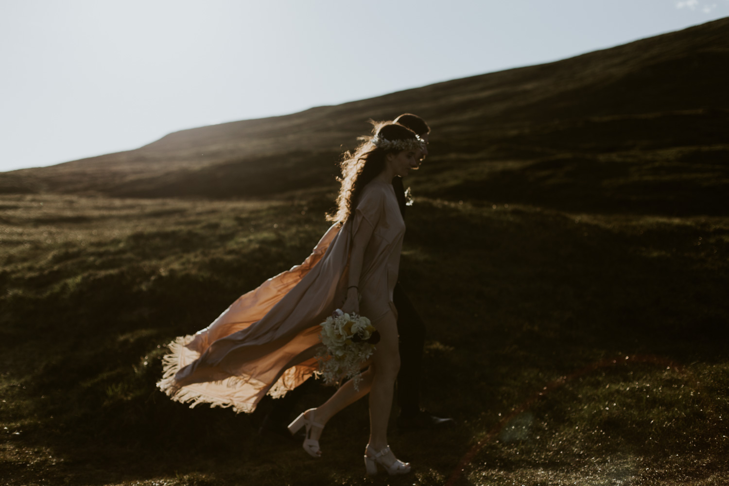 Isle of Skye Elopement Adventurous Emotional Photography