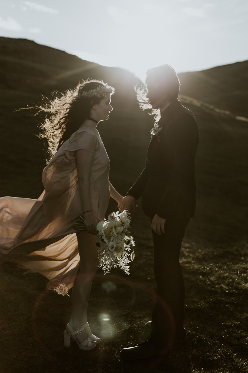 Isle of Skye Elopement Emotional Photography