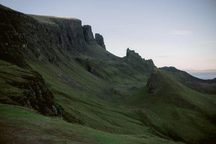 Quiraing in Isle of Skye, Scotland