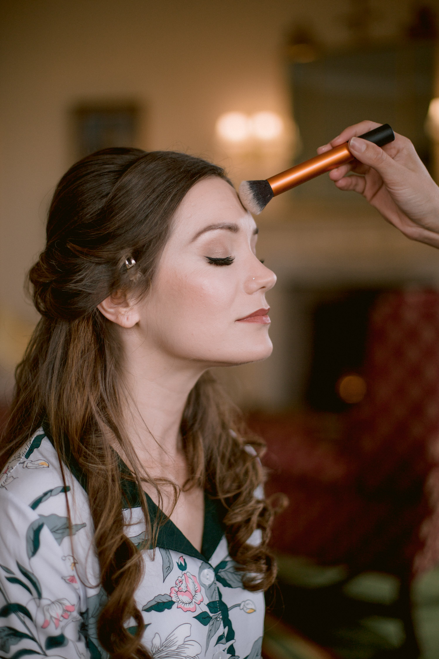Culzean Castle Ayrshire Bride Getting Ready | Luxury Wedding Photography