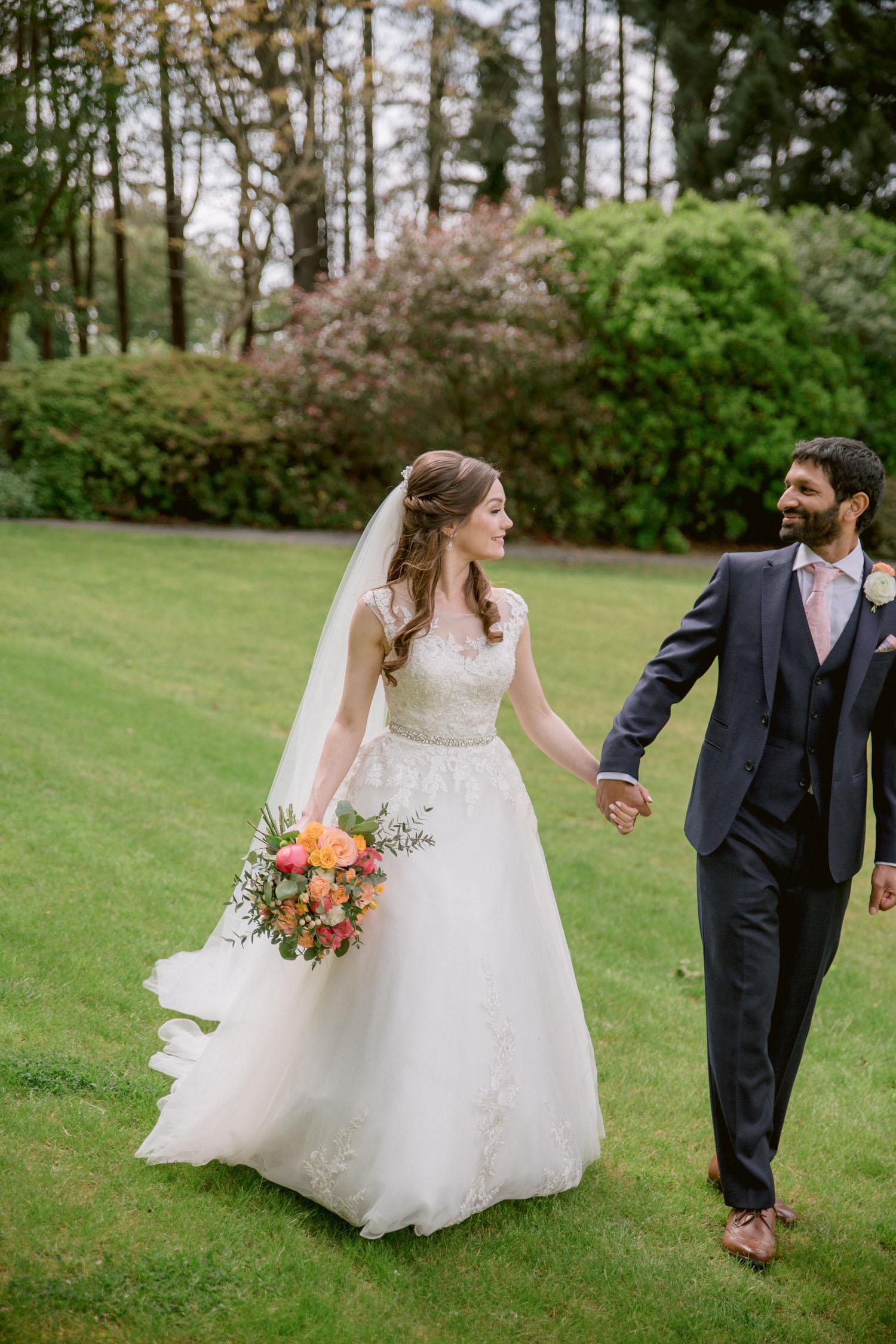 Ayrshire bright wedding photography by Ceranna