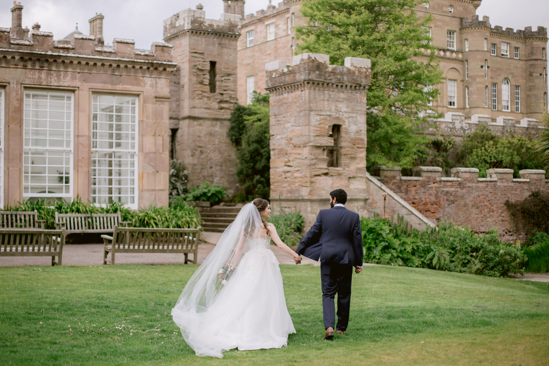 Bridal Portraits | Ayrshire Luxury Wedding Photographer | Culzean Castle Wedding Photography
