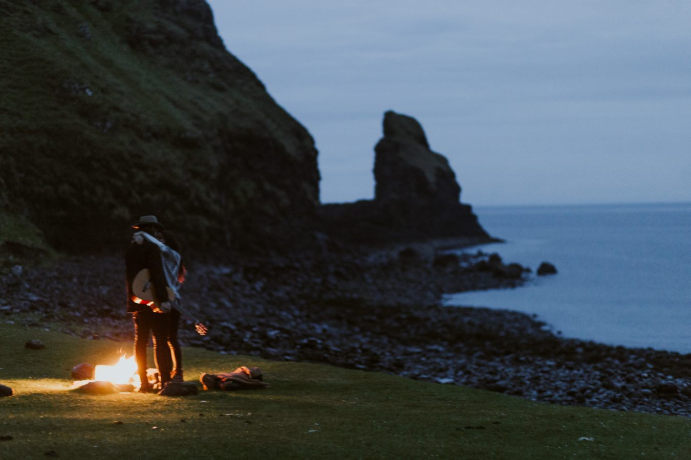 Talisker Beach Elopement Photography