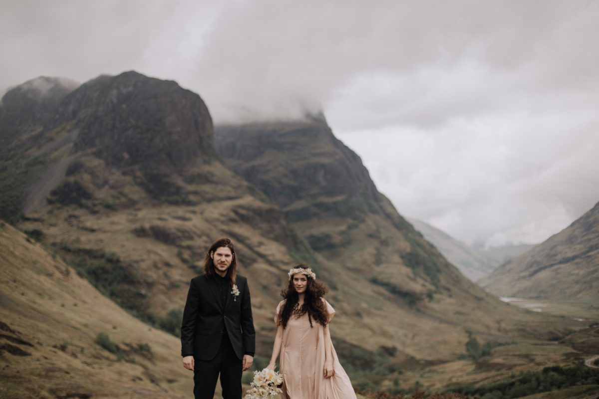 Glencoe Elopement Photography