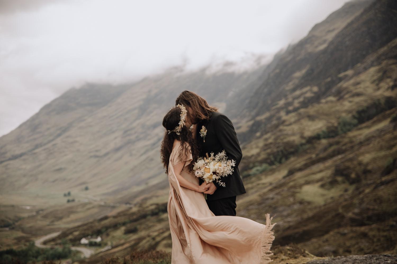 Glencoe Elopement Photography | Scottish Adventurous Wedding Photographer