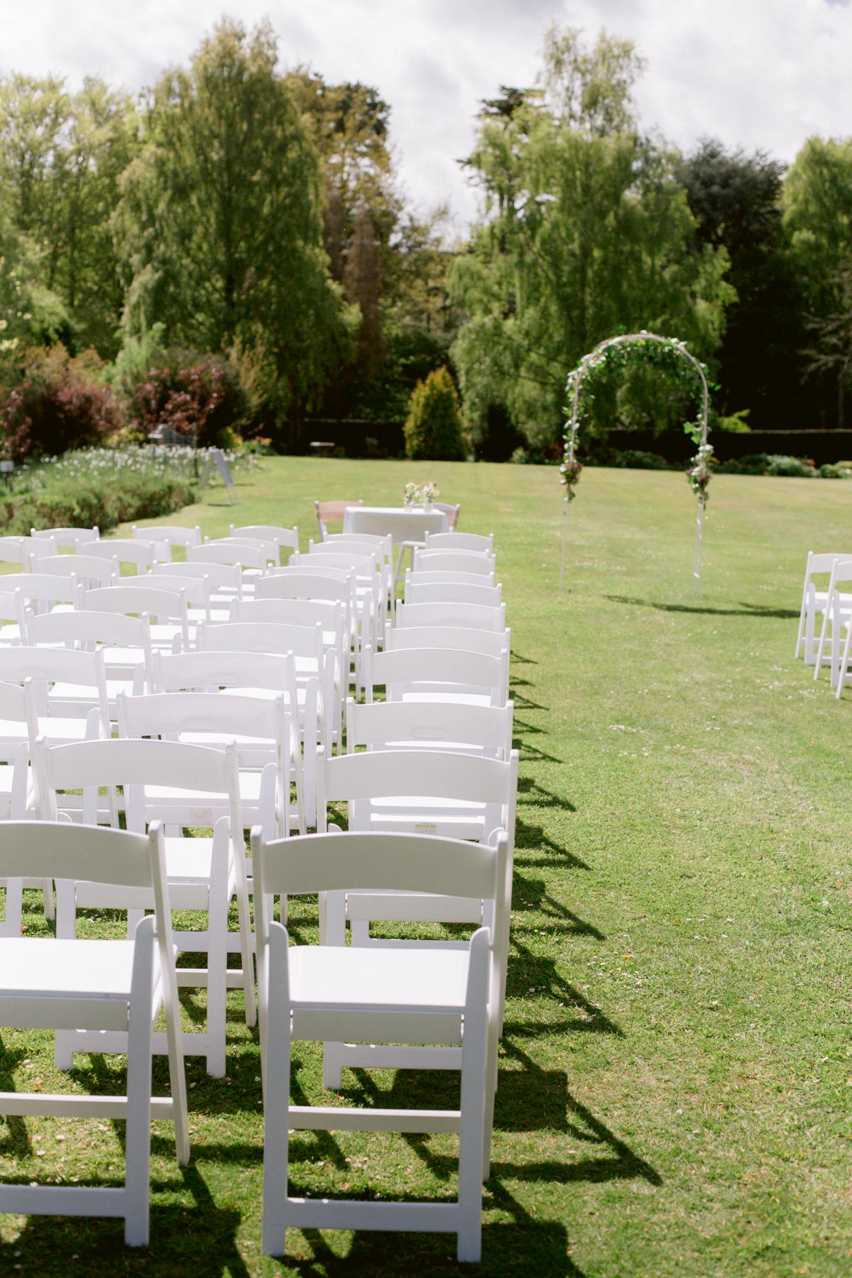 Paxton House Wedding | Outdoor Ceremony behind the house