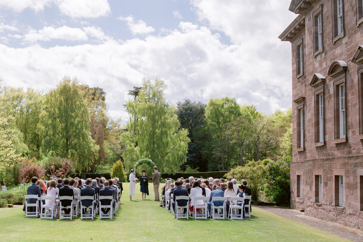 Paxton House Wedding Ceremony Photography