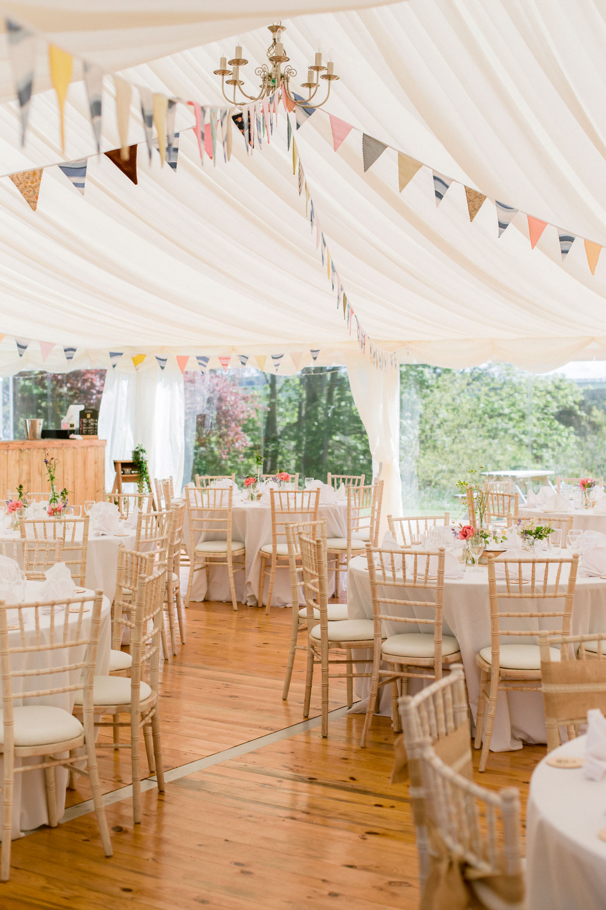 Paxton House Wedding Marquee | Wedding Photography