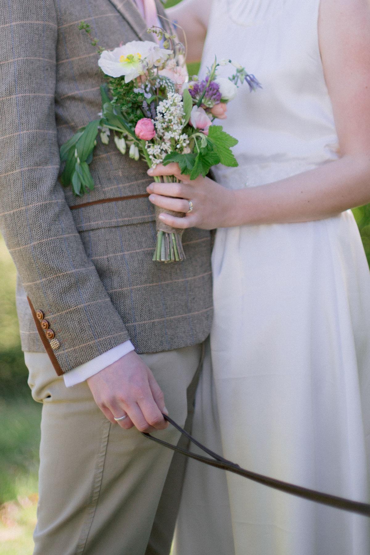 Dog themed wedding photography | Paxton House Wedding