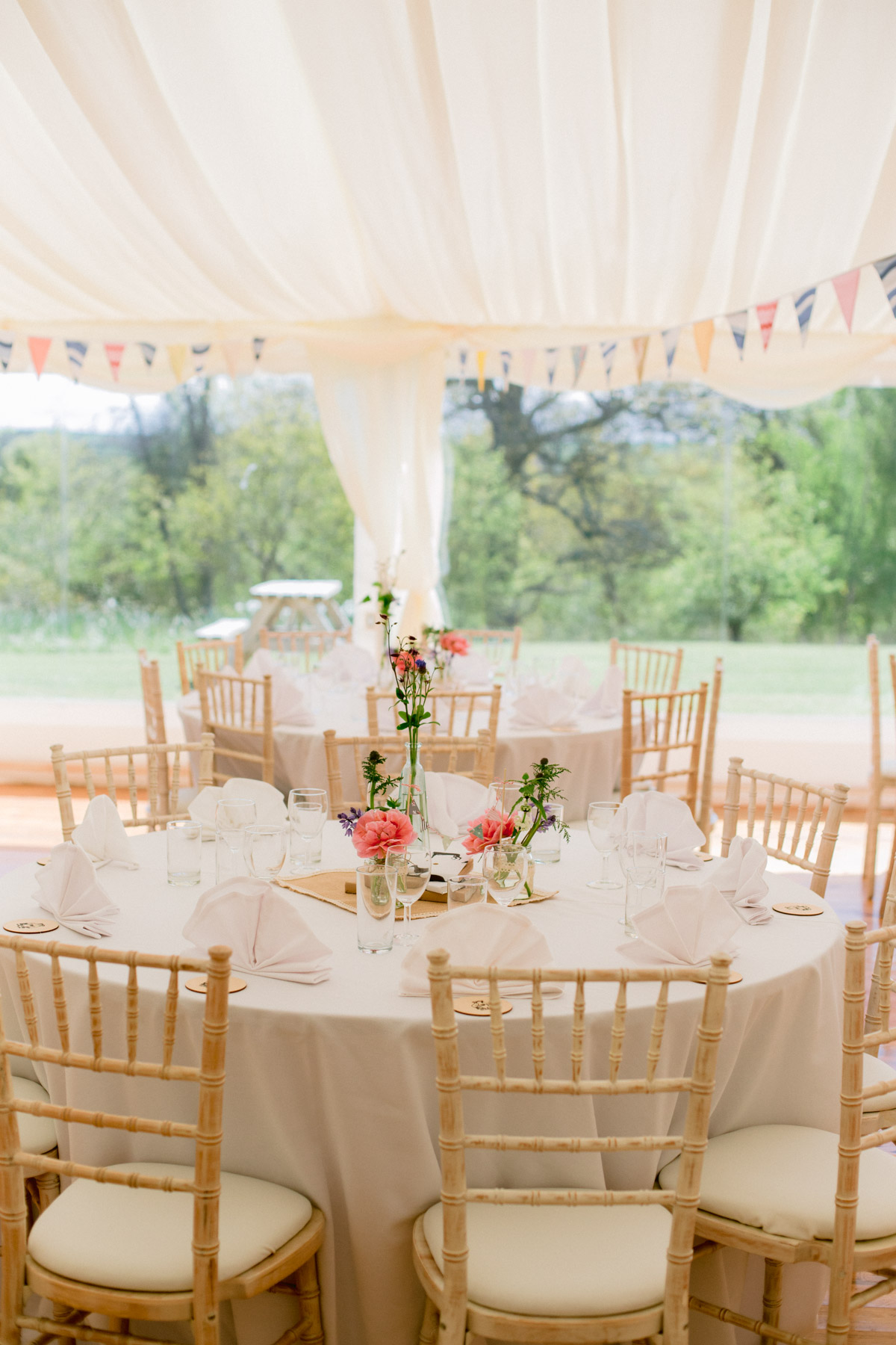 Paxton House Wedding Marquee Photography