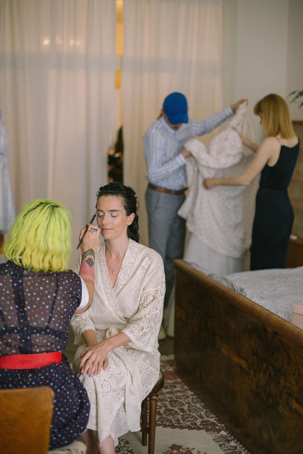 Kateřina Koki Mlejnková svatební líčení