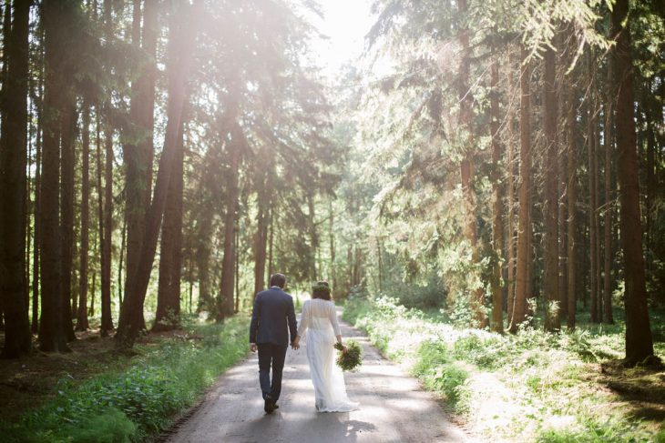 Czech Forest Wedding | Bohemian wedding in the woods by Ceranna Photography