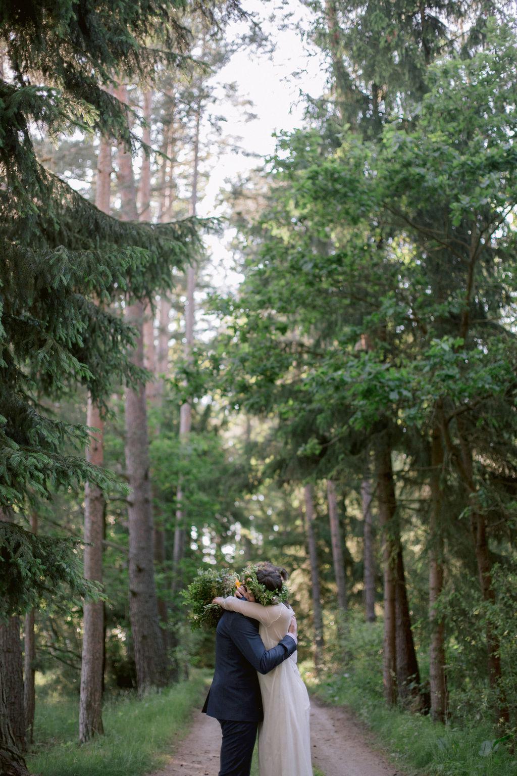 Czech forest wedding