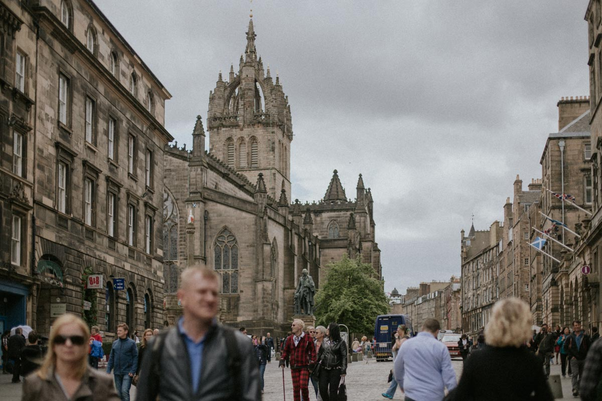 Royal Mile Edinburgh | St Giles Cathedral Photo