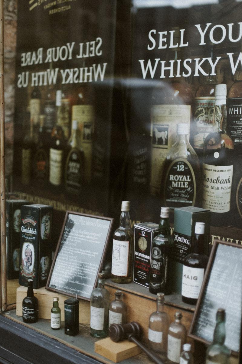 Scottish Whisky Shop Photo by Ceranna Photography