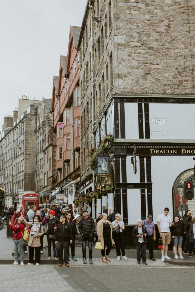 Royal Mile Edinburgh Photo