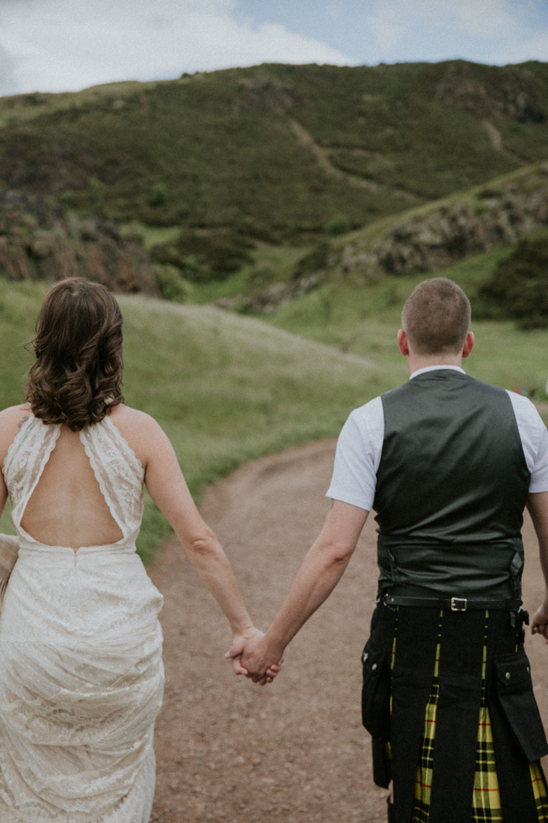 Small Destination Wedding Edinburgh