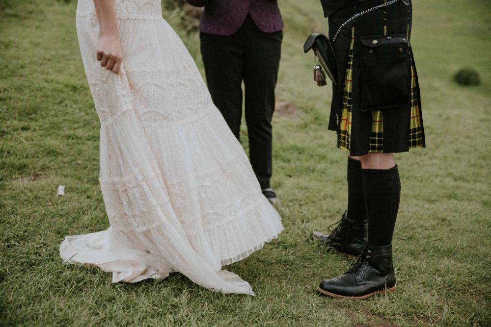Edinburgh Elopement Photography | Scottish Intimate Wedding | Edinburgh Wedding Photographer