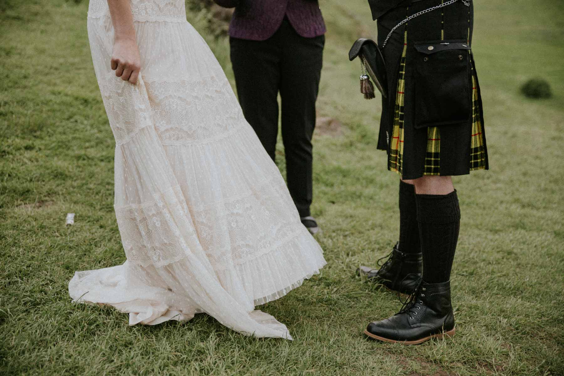 Edinburgh Elopement Photography | Scottish Intimate Wedding | Edinburgh Wedding Photographer
