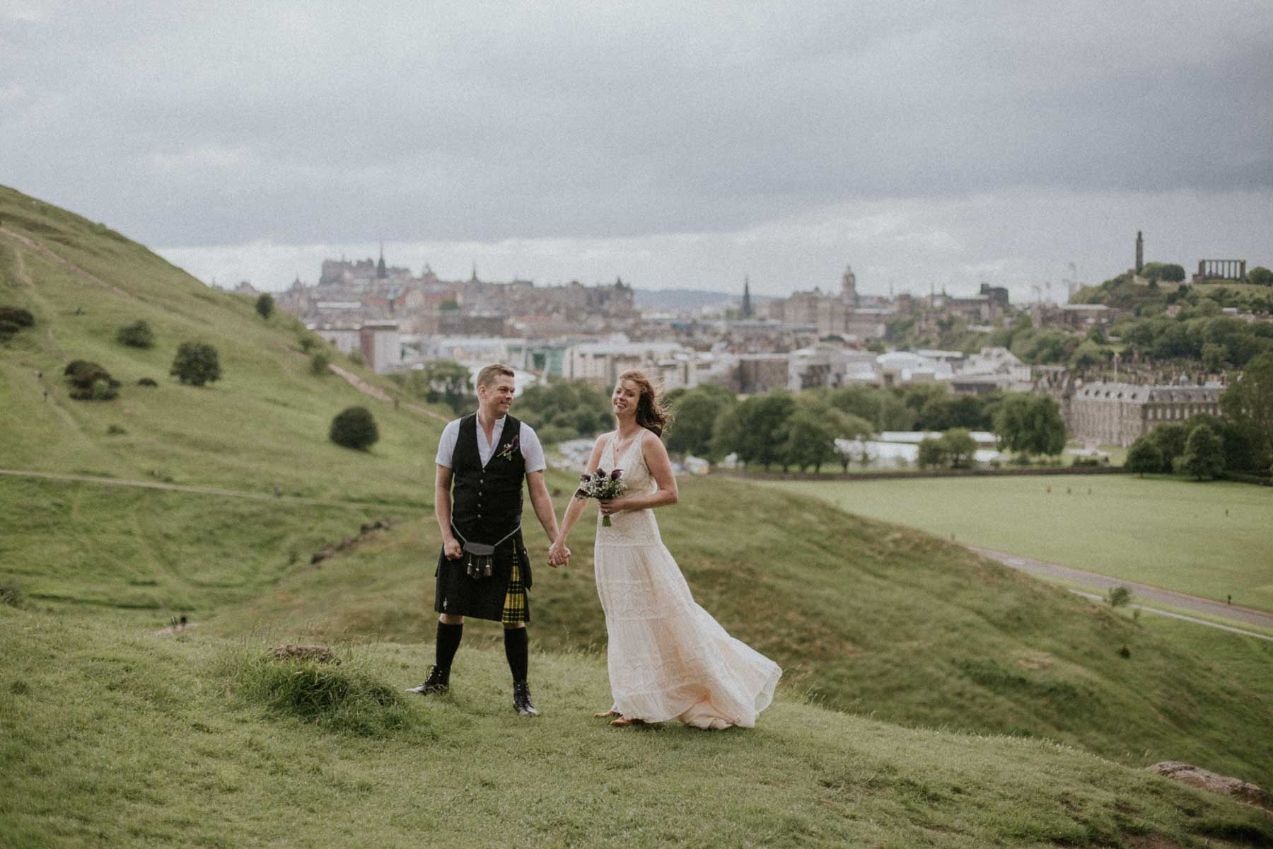 Edinburgh Elopement Photographer | Scottish Destination Elopement