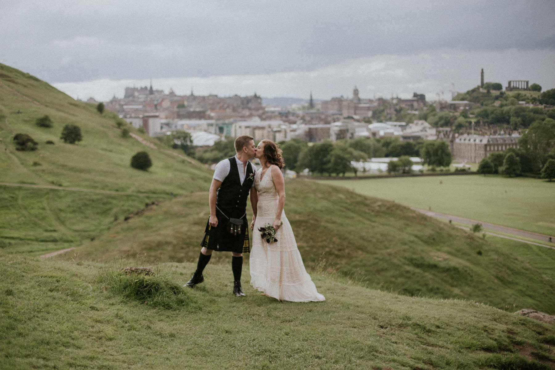 Edinburgh Elopement | Americans elope in Edinburgh