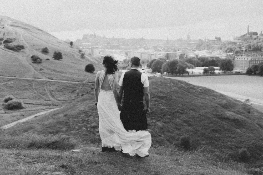 Edinburgh Elopement | Intimate Destination Wedding
