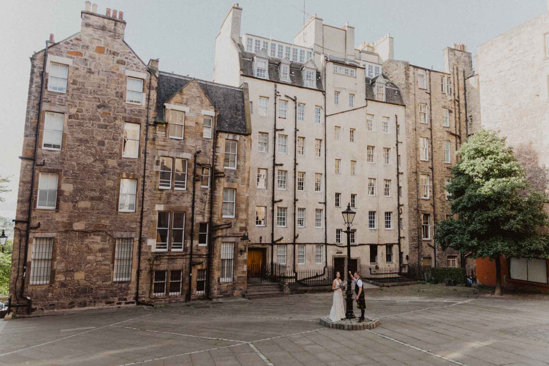 Edinburgh Intimate City Elopement
