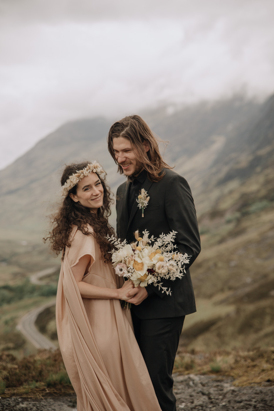 Glencoe Elopement Photography | Scotland Adventurous Elopement