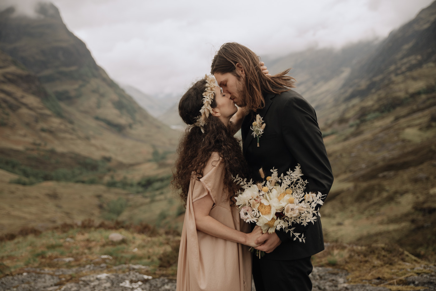Elopement Photographer Scotland | Glencoe Elopement Photography