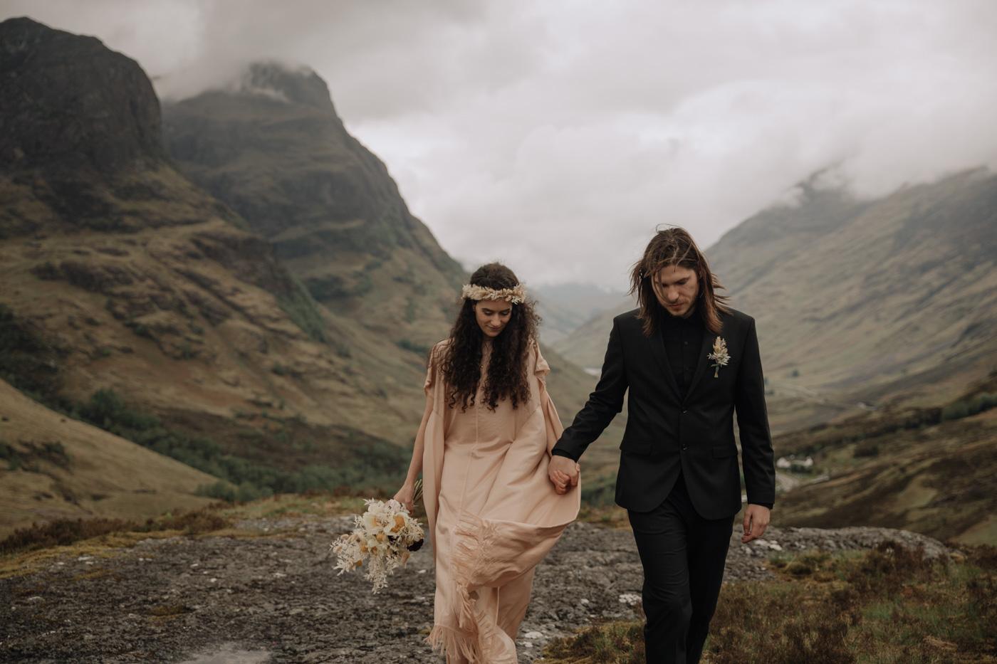 Glencoe Elopement Photography