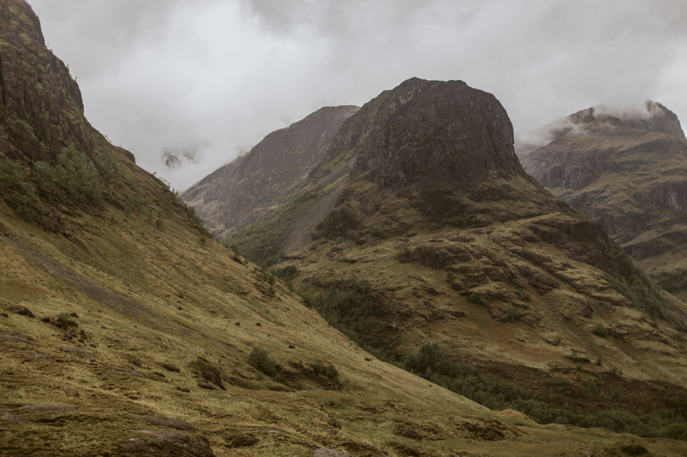 Three Sisters of Glencoe Photography