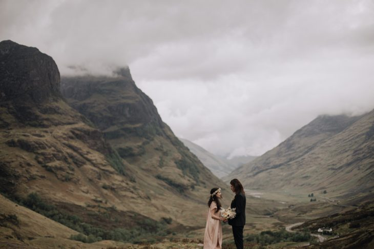 Glencoe Elopement Photography | Ceranna Photo | Scotland Wedding Photographer