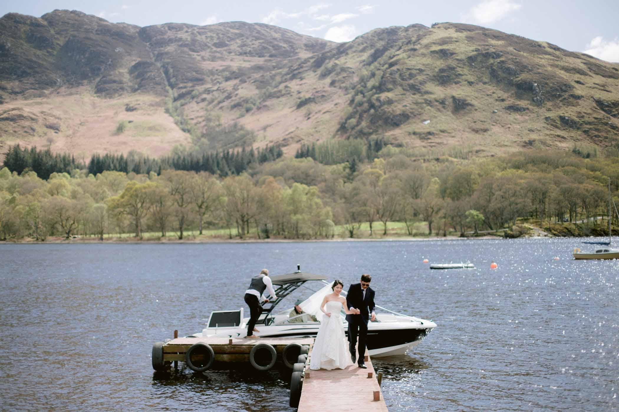 Loch Earn Wedding Photography