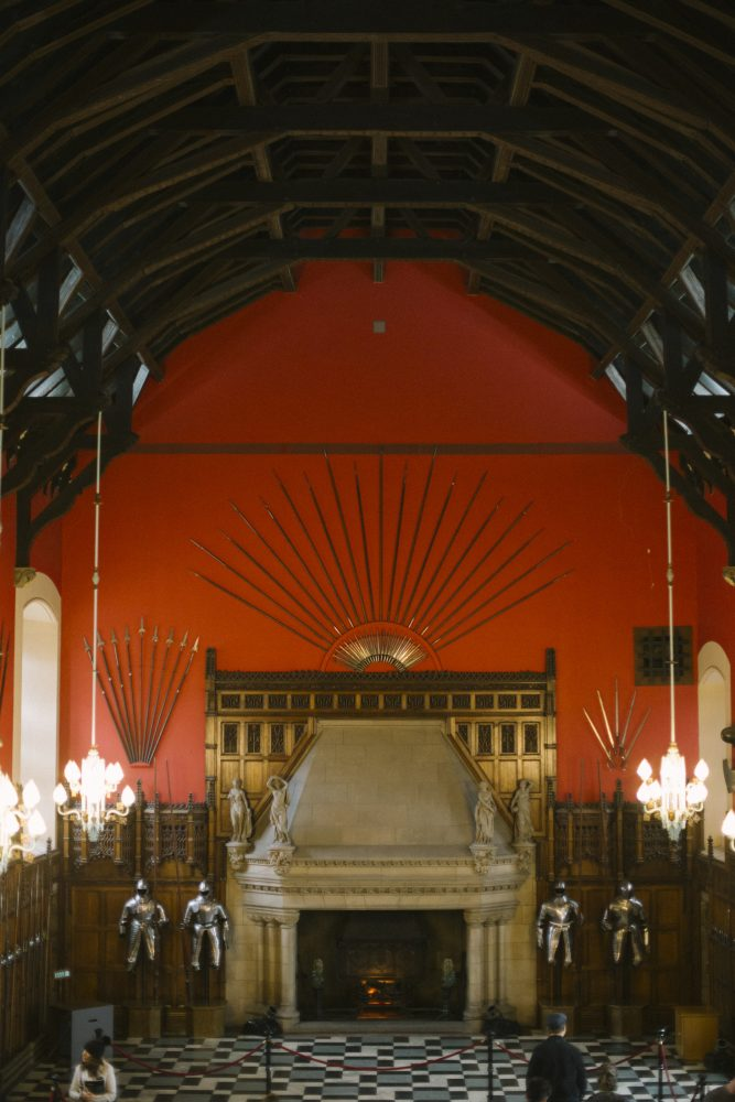 Minstrels Gallery Edinburgh Castle Surprise Proposal Photography