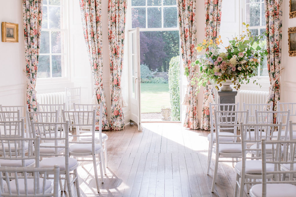 Gilmerton House Wedding Ceremony Photography