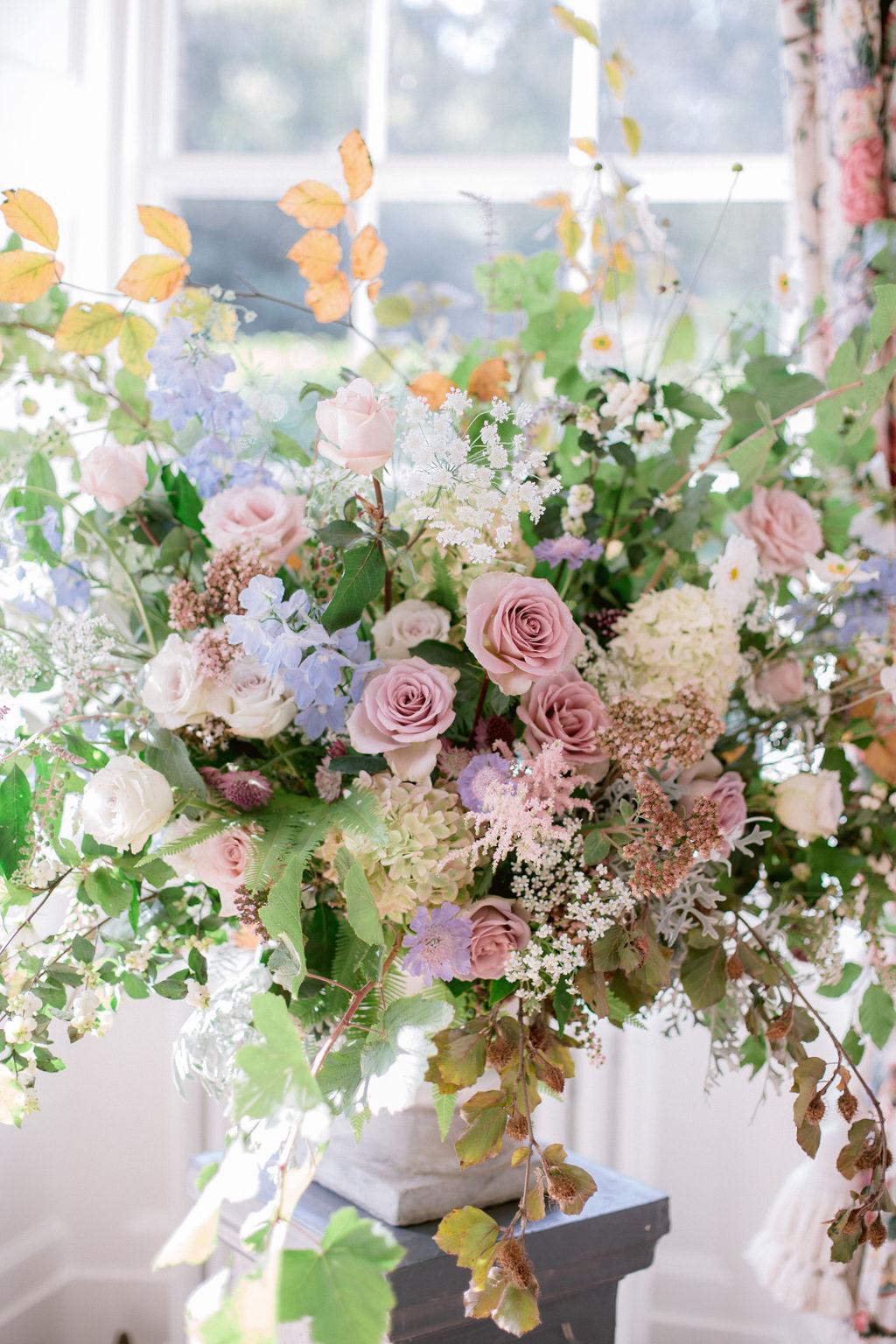 Narcissus Flowers Wedding Florist - Gilmerton House Wedding Photographer