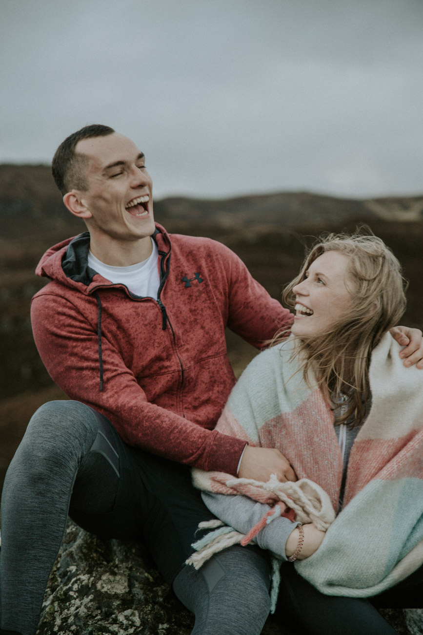 Scottish Adventure Engagement Session