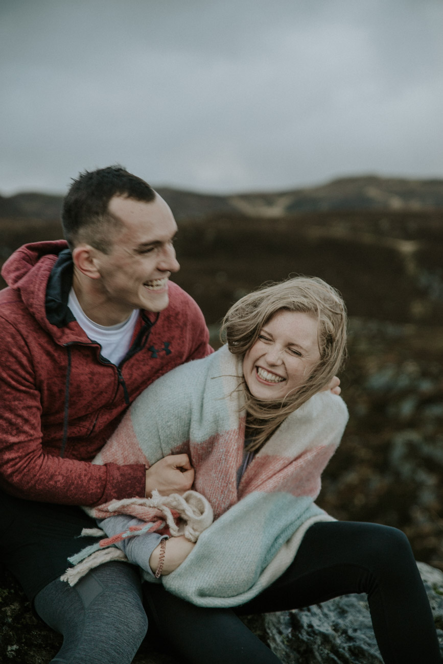 Scottish Alternative Adventure Wedding Photographer